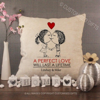 Personalised Love Cushions