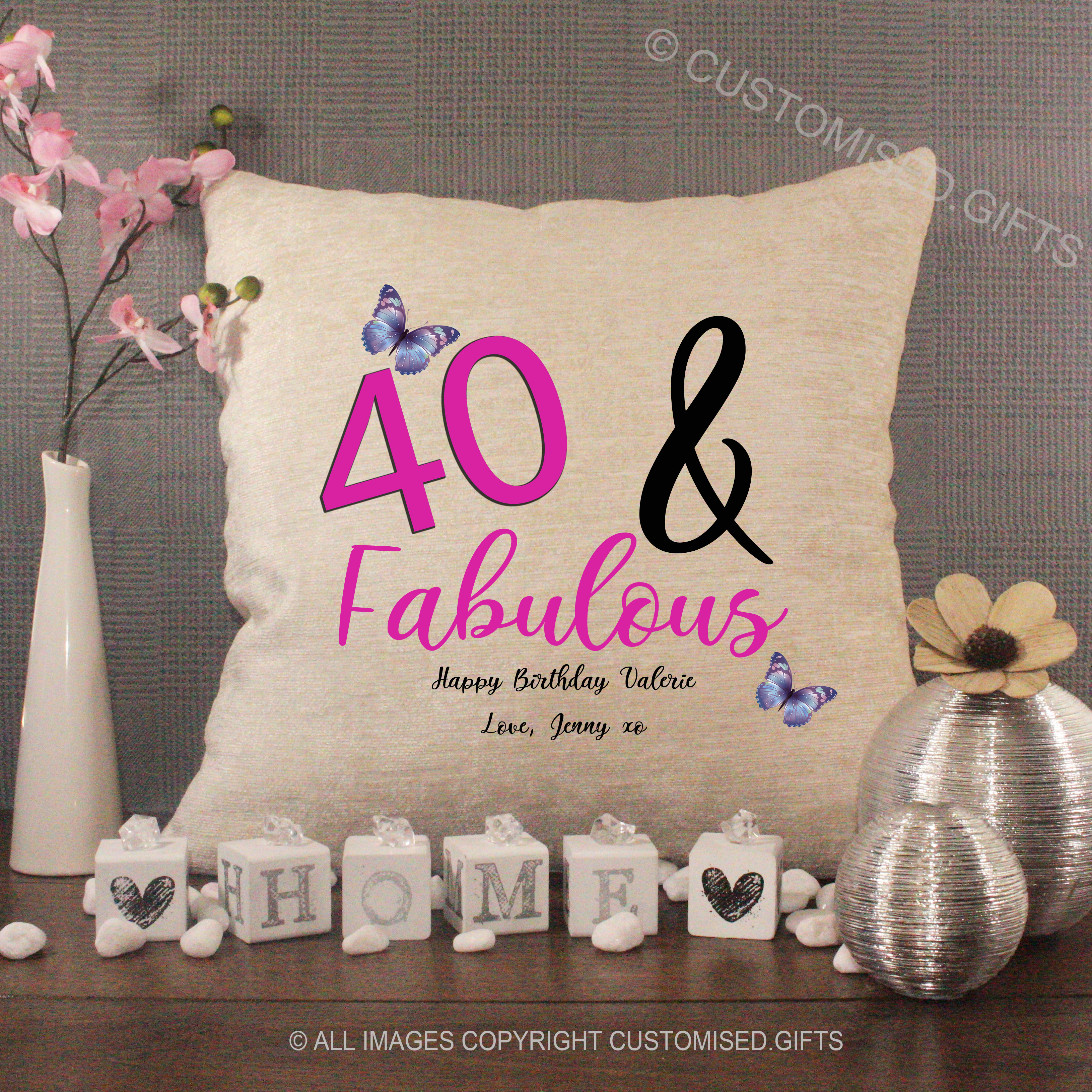 Birthday Cushions