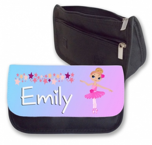 Personalised Pencil Case - Cute Ballerina