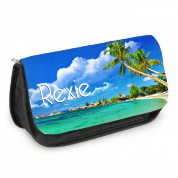 Personalised Pencil Case - Beach
