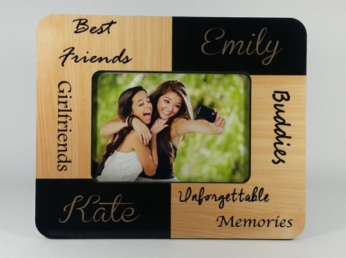 Personalised Photo Frame - Best Friends