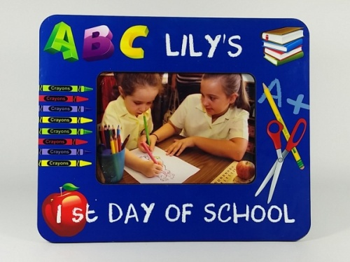 Personalised Photo Frame - 1st Day of School