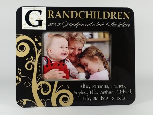 Personalised Photo Frame - Grandchildren