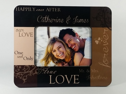 Personalised Photo Frame - True Love