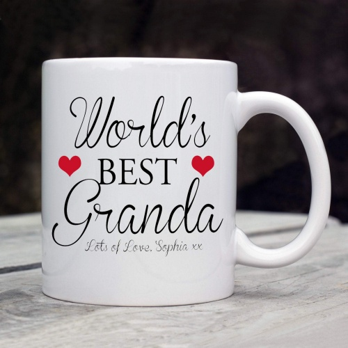 Worlds Best Granda Mug (Hearts)