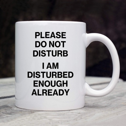 Funny Humorous Mug - Do Not Disturb