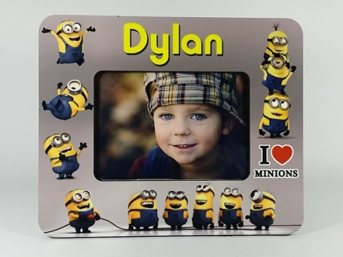 Personalised Photo Frame - Minions