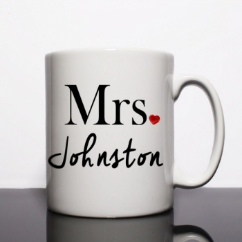 Mrs Johnston Personalised Mug