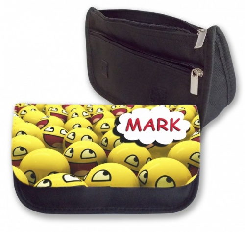 Personalised Pencil Case - Smilies