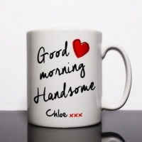 Good Morning Handsome Personalised Mug