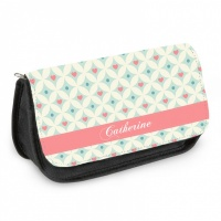 Personalised Pencil Case - Heart Pattern
