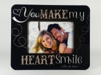 Personalised Photo Frame - You make my Heart smile