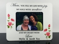 Personalised Photo Frame - Mum you fill our lives with joy