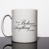 If You Believe In Yourself Personalised Mug