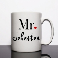Mr Johnston Personalised Mug