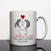 Perfect Love Personalised Mug
