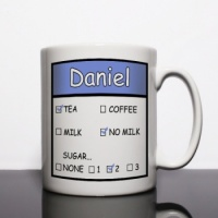 Tea or Coffee Personalised Mug