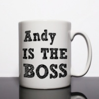 The Boss Personalised Mug