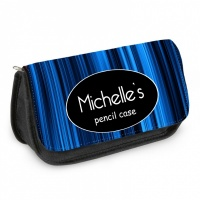 Personalised Pencil Case - Blue Name