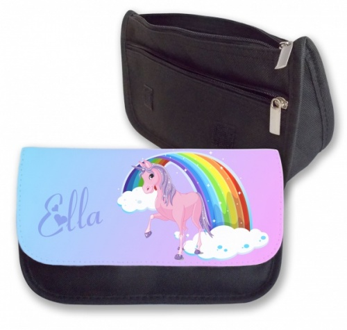 Personalised Pencil Case - Unicorn Rainbow